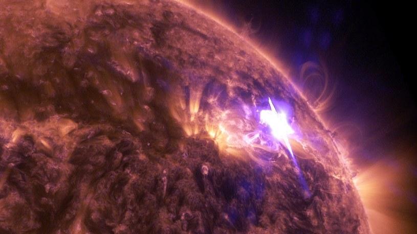 Życie na Ziemi zawdzięczamy burzom słonecznym /NASA