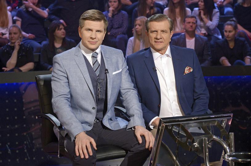 Zygmunt i Filip Chajzer / Mieszko Piętka /AKPA