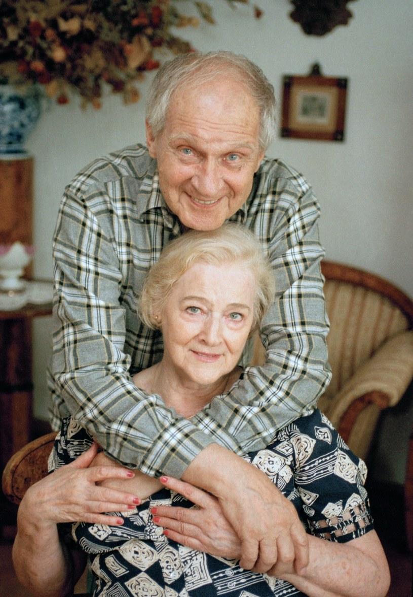 Zygmunt Kęstowicz z żoną /Maciej Billewicz /East News
