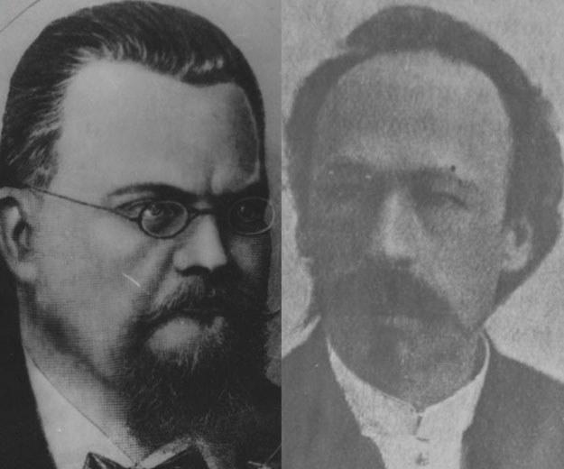 Zygmunt Wróblewski i Karol Olszewski rozsławili polską naukę /Z archiwum Narodowego Archiwum Cyfrowego