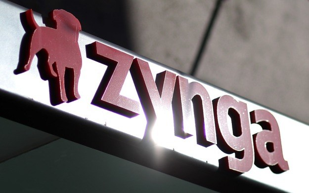 Zynga - logo firmy /AFP