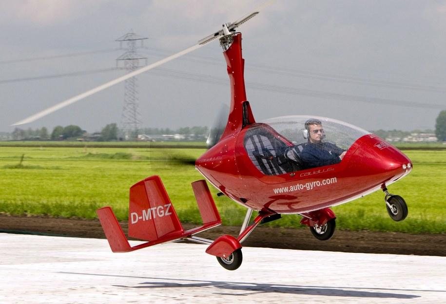Żyrokopter /MARCEL ANTONISSE/ANP /PAP/EPA
