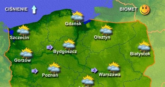 W końcu odpoczniemy od niemal tropikalnych upałów, jakie towarzyszyły nam od kilku dni. Nad obszar Polski zacznie dzisiaj napływać chłodniejsze powietrze polarno-morskie i tylko regiony na południu i wschodzie kraju pozostaną jeszcze w ciepłej masie zwrotnikowego powietrza. Według synoptyków, na przeważającym obszarze Polski będzie dziś pogodnie, w miarę słonecznie i bez opadów.