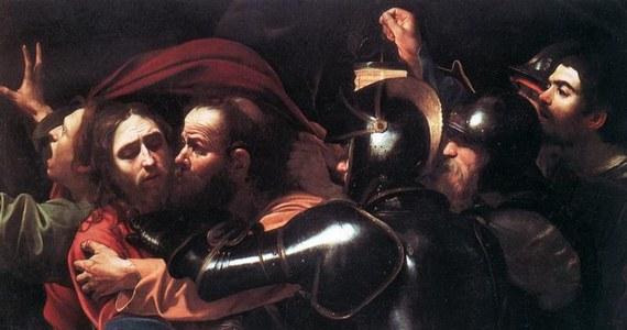 """W Berlinie odzyskano wart 100 milionów dolarów obraz """"Pojmanie Chrystusa"""" włoskiego mistrza wczesnego baroku Caravaggia. Płótno zginęło dwa lata temu z ukraińskiego muzeum. Funkcjonariusze zatrzymali cztery osoby podejrzane o kradzież i handel dziełami sztuki."""