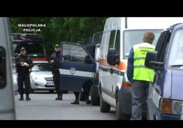 Policjanci zatrzymali podejrzanego o eksplozje w Krakowie