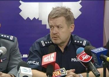 Policja o zatrzymaniu podejrzanego o zamachy bombowe w Krakowie