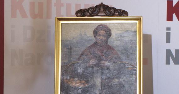 """W 2013 roku w Muzeum Narodowym w Warszawie na wystawie dzieł Aleksandra Gierymskiego każdy będzie mógł zobaczyć zrabowaną w czasie wojny """"Żydówkę z pomarańczami"""" tego malarza. Arcydzieło, które przez 60 lat znajdowało się na liście dzieł zrabowanych z polskich zbiorów, wróciło właśnie kraju. Zaprezentowano je dziś w Ministerstwie Kultury w Warszawie."""