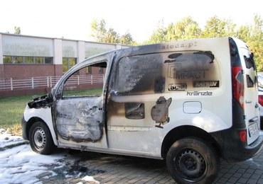 10 samochodów podpalono w nocy w Łodzi