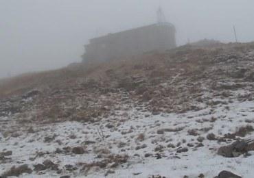 Pierwszy śnieg na Kasprowym