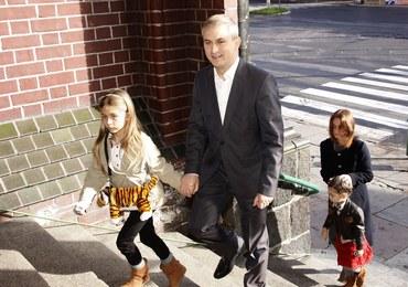 Napieralski zagłosował w szkole, do której uczęszczał