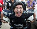 Maradona przeprosił, kamerzysta niegroźnie ranny