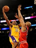 """NBA: Kontuzjowany Bryant postanowił zagrać z """"Bykami"""""""