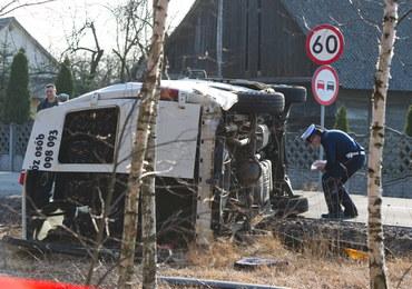 Wypadek busa w Kromolinie Starym