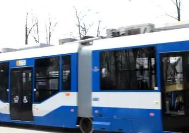Na ulice Krakowa wyjechał tramwaj-gigant