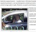 """""""Fakt"""" przyciął Tuska łamiącego przepisy drogowe"""