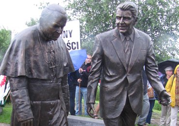 Gdańsk: Jan Paweł II i Ronald Reagan mają wspólny pomnik