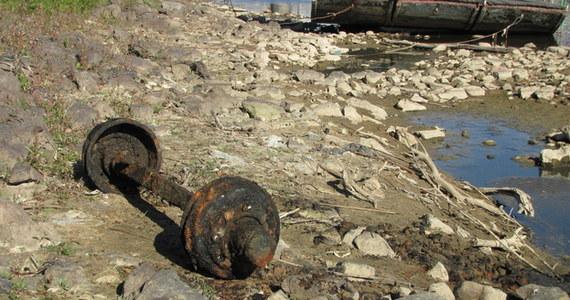 Nie ma planów specjalnej akcji oczyszczania Wisły - usłyszał reporter RMF FM w Regionalnym Zarządzie Gospodarki Wodnej. Wyjątkowo niski poziom wody ujawnił w rzece bardzo dużo różnego rodzaju śmieci. W rzece można znaleźć rury, kątowniki, części samochodów oraz pralki czy lodówki.