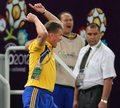Trener Ukrainy Oleg Błochin trafił do szpitala