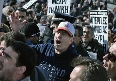 """""""Powstrzymać neonazistów"""". Demonstracja w centrum Aten"""
