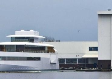 Luksusowy jacht Steve'a Jobsa aresztowany w Amsterdamie