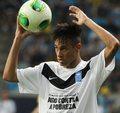 Neymar najlepszym piłkarzem w Ameryce Południowej