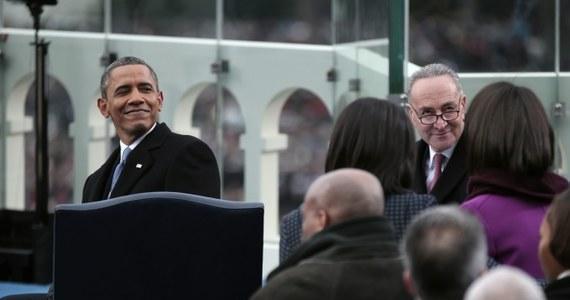 Barack Obama został oficjalnie zaprzysiężony na kolejną kadencję. Amerykański prezydent złożył przysięgę na wierność konstytucji Stanów Zjednoczonych.