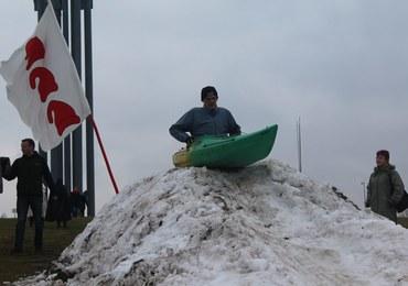 Spływ rycerzy po śniegu. Tylko pod Grunwaldem [FILM]
