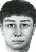 Portret pamięciowy poszukiwanego bandyty