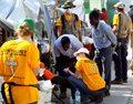 Travolta zawiózł pomoc dla Haiti