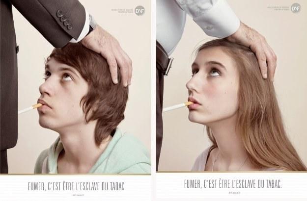 Szokująca Kampania Antynikotynowa We Francji Faktyinteriapl