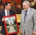 Kompromitujący prezent dla piłkarzy od prezydenta Krakowa