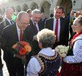 Książę i księżna Monako z wizytą w Krakowie