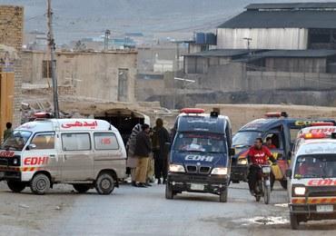 Zamach bombowy w Pakistanie, prawie 50 ofiar