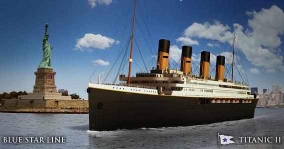 """Australijski miliarder Clive Palmer poinformował w Nowym Jorku, że zamierza stworzyć replikę słynnego """"Titanica"""". Budowa ma się wkrótce rozpocząć w Chinach. O kosztach tego przedsięwzięcia na razie nic nie wiadomo."""