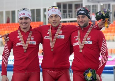 Polscy panczeniści i panczenistki z medalami MŚ w Soczi