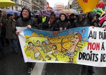 """Masowe protesty we Francji. """"Wszyscy nas oszukali"""""""
