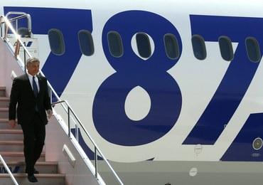 Dreamliner japońskiej linii ANA zakończył lot testowy