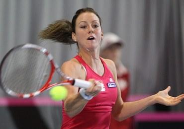 Turniej WTA w Oeiras: Urszula Radwańska wygrała z Cibulkovą