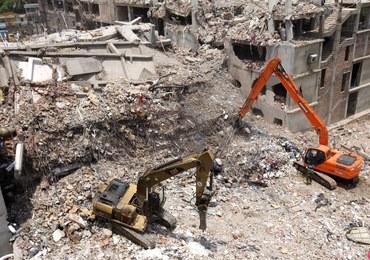 Architekt budynku, który zawalił się w Bangladeszu: To miał być biurowiec, nie fabryka