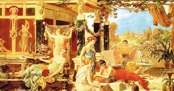 historie rzymskiej orgii blowjobes