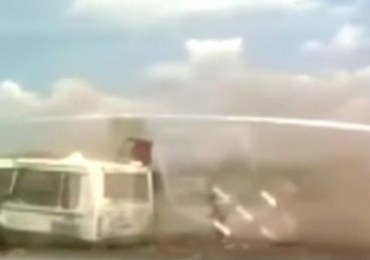 Amatorskie nagranie tragicznego wypadku w Moskwie