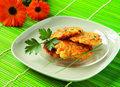 Placuszki migdałowo- ziemniaczano- marchewkowe
