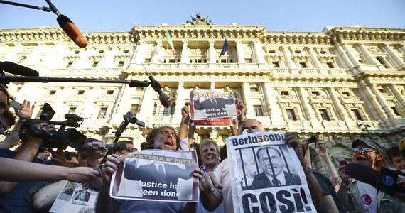 Sąd Kasacyjny w Rzymie potwierdził karę więzienia dla byłego premiera Włoch, 76-letniego Silvio Berlusconiego, skazanego za oszustwa podatkowe w jego telewizji Mediaset. Sąd rozpatrywał odwołanie od orzeczenia sądów dwóch poprzednich instancji.
