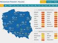 Gwałtowne burze nad Wielkopolską i Dolnym Śląskiem