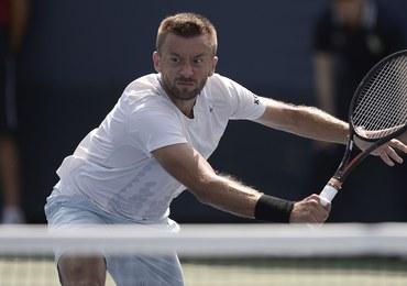 Przysiężny odpadł w pierwszej rundzie US Open