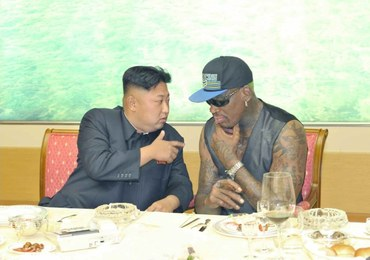 Rodman może trenować koszykarzy Korei Północnej