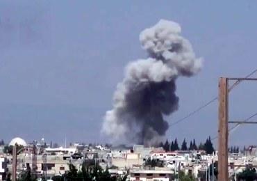 Syryjskie siły powietrzne znów bombardują bazy powstańców