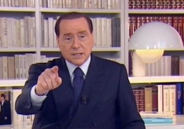 Berlusconi: Nie dam się wyrzucić z polityki