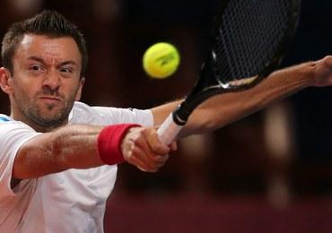 Turniej ATP w Sankt Petersburgu - porażka Przysiężnego