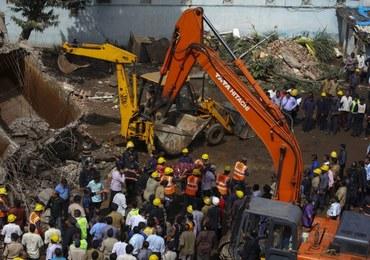 Zawalił się budynek w Indiach